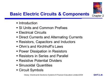 Basic Electric Circuits & Components