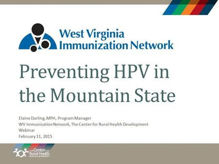 Preventing HPV in the Mountain State