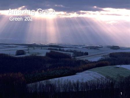 Amazing Grace Green 202.