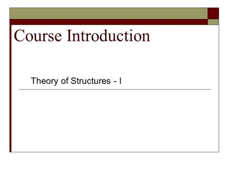 structural analysis course outline 1 design • analysis • research aerospace structural analysis course outline april 2014 design criteria basic overview faa airworthiness regulations.