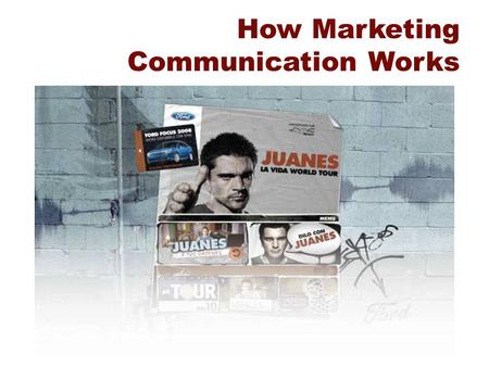 How Marketing Communication Works. Does Advertising Work?