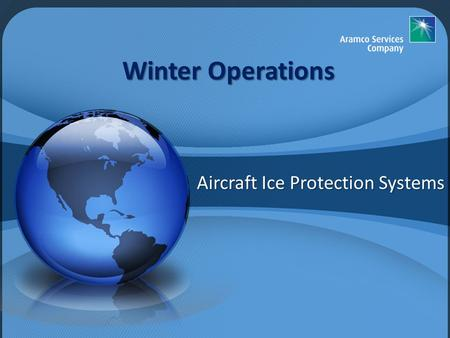Aircraft Ice Protection Systems