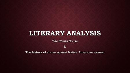 an analysis of american literature A short guide to close reading for a short guide to close reading for literary analysis we will read the poem design by famous american poet robert.