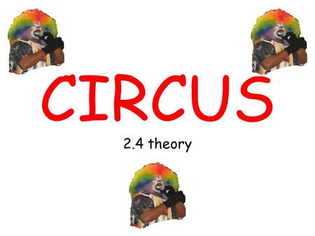 CIRCUS 2.4 theory. SKILL LEARNING PRINCIPLES Stages of learning Classification of skills Types of practices Factors affecting learning.
