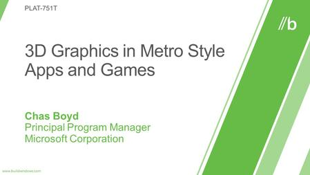 You can use 3D graphics to enhance and differentiate your Metro style app.