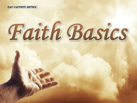 "The Rapture (Part 5 of ""Faith Basics"") ESV Hebrews 6:1-2 Therefore let us leave the elementary doctrine of Christ and go on to maturity, not laying again."