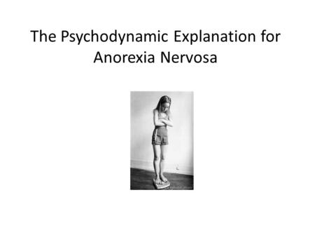 understanding anorexia nervosa essay Anorexia nervosa anorexia is a problem to be addressed through deeper understanding of its nature and the course it will take because your friends and.