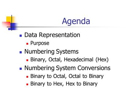 binary and hexidecimal numbering systems The base 16, hexadecimal (abbreviated to hex) numbering system is regularly  used in computer coding for conveniently representing a byte or.