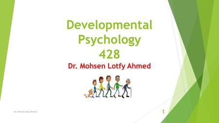 Developmental Psychology 428 Dr. Mohsen Lotfy Ahmed dr. Mohsen Lotfy Ahmed 1.