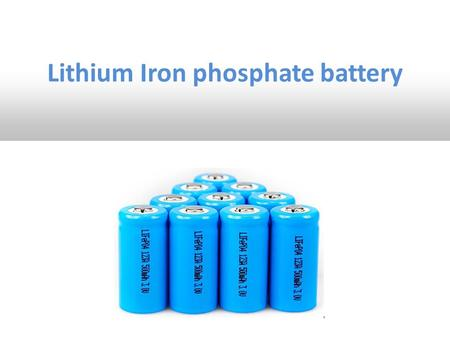 Lithium Iron phosphate battery. Lithium Iron Phosphate Battery (LiFePO4) also short form (LFP) A lithium Ion rechargeable battery Use LiFePO4 as a anode.