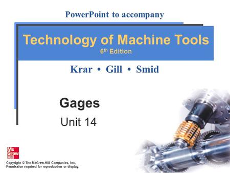 Gages Unit 14.