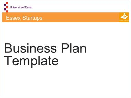 Essex Startups Business Plan Template. Executive Summary In this section include in no more than 1,000 words: Mission statement What does the business.