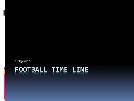 an introduction to the history and the origins of nfl and american football Closely related to two english sports—rugby and soccer (or association football) —gridiron football originated at universities in north america,.