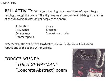 """Concrete Abstract"" poem"