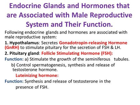 female reproductive hormones and their functions pdf