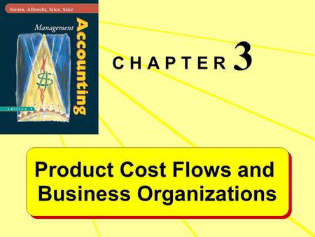 Product Cost Flows and Business Organizations Product Cost Flows and Business Organizations C H A P T E R 3.