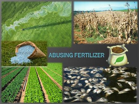 Usage  Fertilizer is used to grow more plants at a faster rate  Plants need nitrogen(N), phosphorus(P) and potassium(K) to grow. Chemical fertilizers.