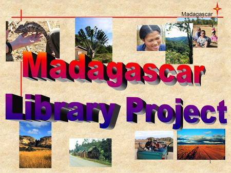 Madagascar 1. 2 4 th largest island in the world (587,040 km 2 - Alberta is 661 848 km 2 )