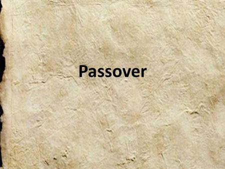 Passover. Passover is a holiday celebrated in the Jewish Religion. It last The Passover recalls the time when Moses helped the Jews escape slavery in.