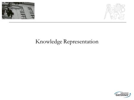 Knowledge Representation. Knowledge Representation Hypothesis Knowledge representation is an essential problem of symbolic-based artificial intelligence.