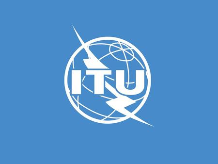 Digital Television in the Pacific An element of integrated information services ITU Seminar on Spectrum Management and Terrestrial TV Broadcast Nandi,
