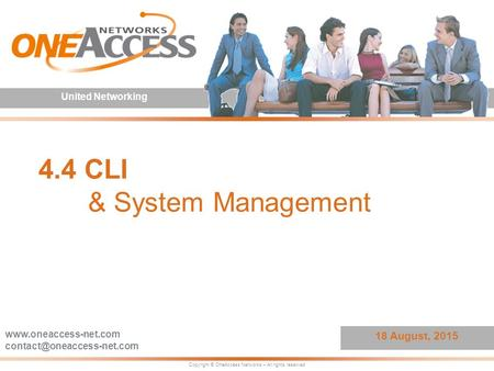 4.4 CLI & System Management