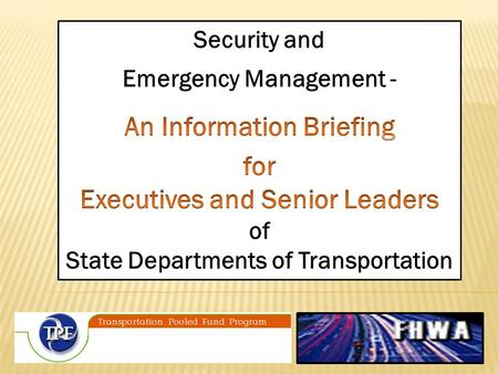 Emergency management involves preparing for, responding to, and recovering from a disaster or emergency. 3.