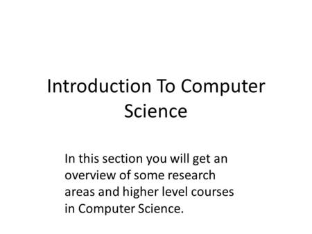 higher computing coursework 2009 Sqa - higher computing science the higher computing science course introduces learners to an advanced range of learners gain an awareness of the importance that.