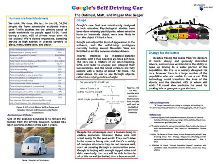 "Google's Self Driving Car Acknowledgments ""6 Things I learned from riding in a Google Self-driving Car, The Oatmeal,"