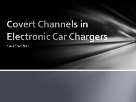 Caleb Walter. iPhone style charger Malware channel Exploit Vehicle CAN network Create Covert Channel at Public Charging Stations Custom Arduino CAN EVSE.
