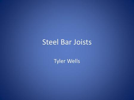 Steel Bar Joists Tyler Wells. Academy Sports Building The building we chose is Academy Sports. It is located in Opelika Alabama. Academy is a sporting.