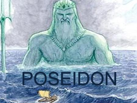 Poseidon, son of Cronus and Rhea, was one of six siblings (Hestia, Demeter, Hera, hades, Zeus) and father of seven (Triton, Theseus, Polyphemus, Agenor,