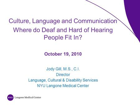 the challenges of being deaf