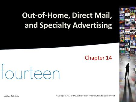 Out-of-Home, Direct Mail, and Specialty Advertising
