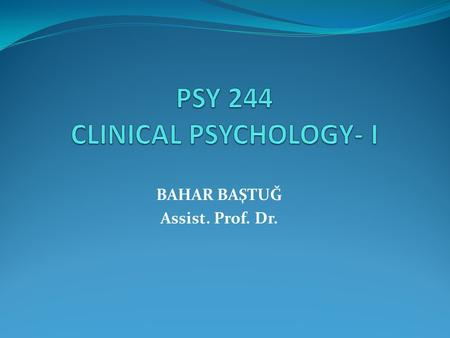 psy 244 Free essay: psychology 244 instructor: lj harris psychology 244 midterm examination spring, 2014 study guide organization of examination and questions from.
