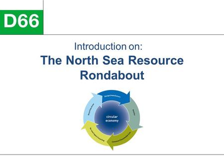 The North Sea Resource Rondabout