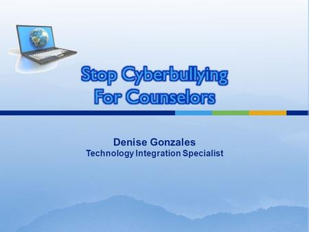 Denise Gonzales Technology Integration Specialist.