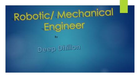 By. Description! Mechanical engineers develop various products, ranging from small component designs to extremely large plant, machinery or vehicles.