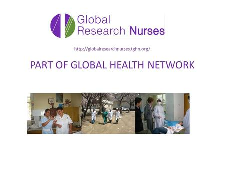 PART OF GLOBAL HEALTH NETWORK.