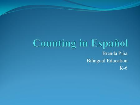 Brenda Piña Bilingual Education K-6. TEAKS §128.11. Spanish Language Arts and Reading, Kindergarten, Beginning with School Year 2009-2010. (b) Knowledge.