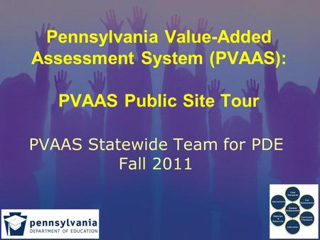 Pennsylvania Value-Added Assessment System (PVAAS): PVAAS Public Site Tour PVAAS Statewide Team for PDE Fall 2011.