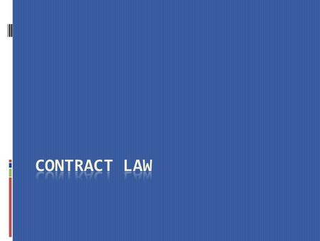 INTRODUCTION A contract is a voluntary agreement between two or more parties, which creates legally enforceable obligations. The distinguishing feature.