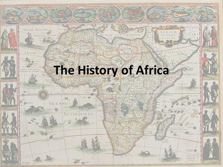 The History of Africa. Islamic Conquest Arab Muslims conquered the region in 600s. The Great Mosque of Kairauon.