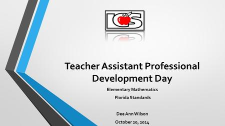 Teacher Assistant Professional Development Day