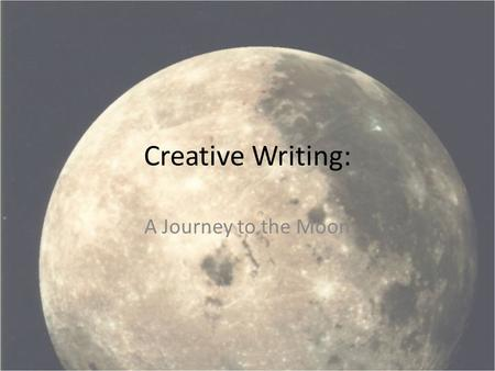 creative writing pieces on journeys