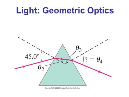 Light: Geometric Optics. Units of Chapter 23 The Ray Model of Light Reflection; Image Formed by a Plane Mirror Formation of Images by Spherical Mirrors.