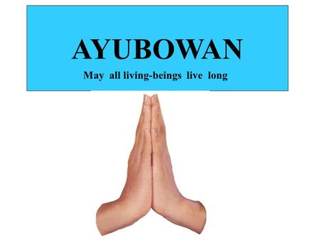 "AYUBOWAN May all living-beings live long. Why Post Graduate studies/Research ? For personnel ""ego"" as a source of income till permanent employment (esp:"