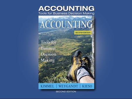 Appendix E-1. Appendix E-2 Subsidiary Ledgers and Special Journals Subsidiary Ledgers and Special Journals Kimmel Accounting, Second Edition Appendix.