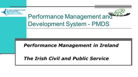 Performance Management and Development System - PMDS