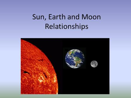 the earth sun and moon relationship compatibility